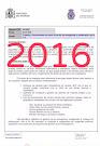 Informes de la Unidad Central de Seguridad Privada 2016