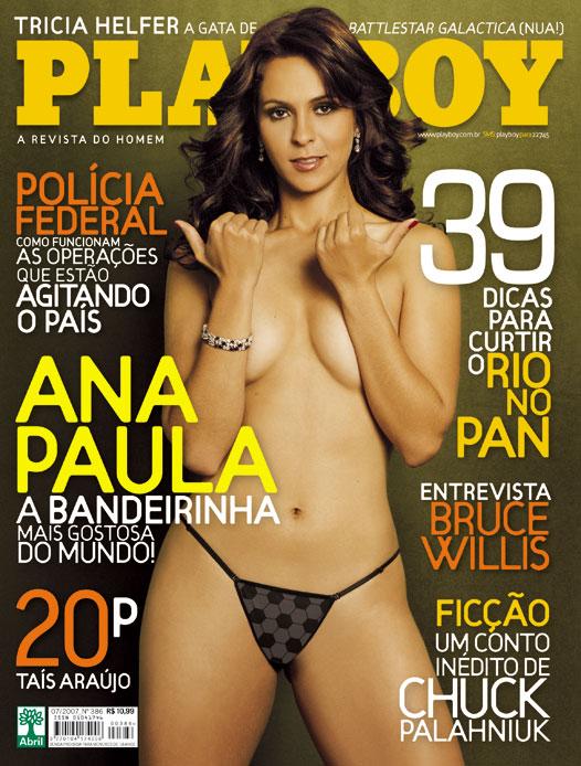Linda E Bandeirinha De Futebol Ana Paula Oliveira Totalmente Pelada