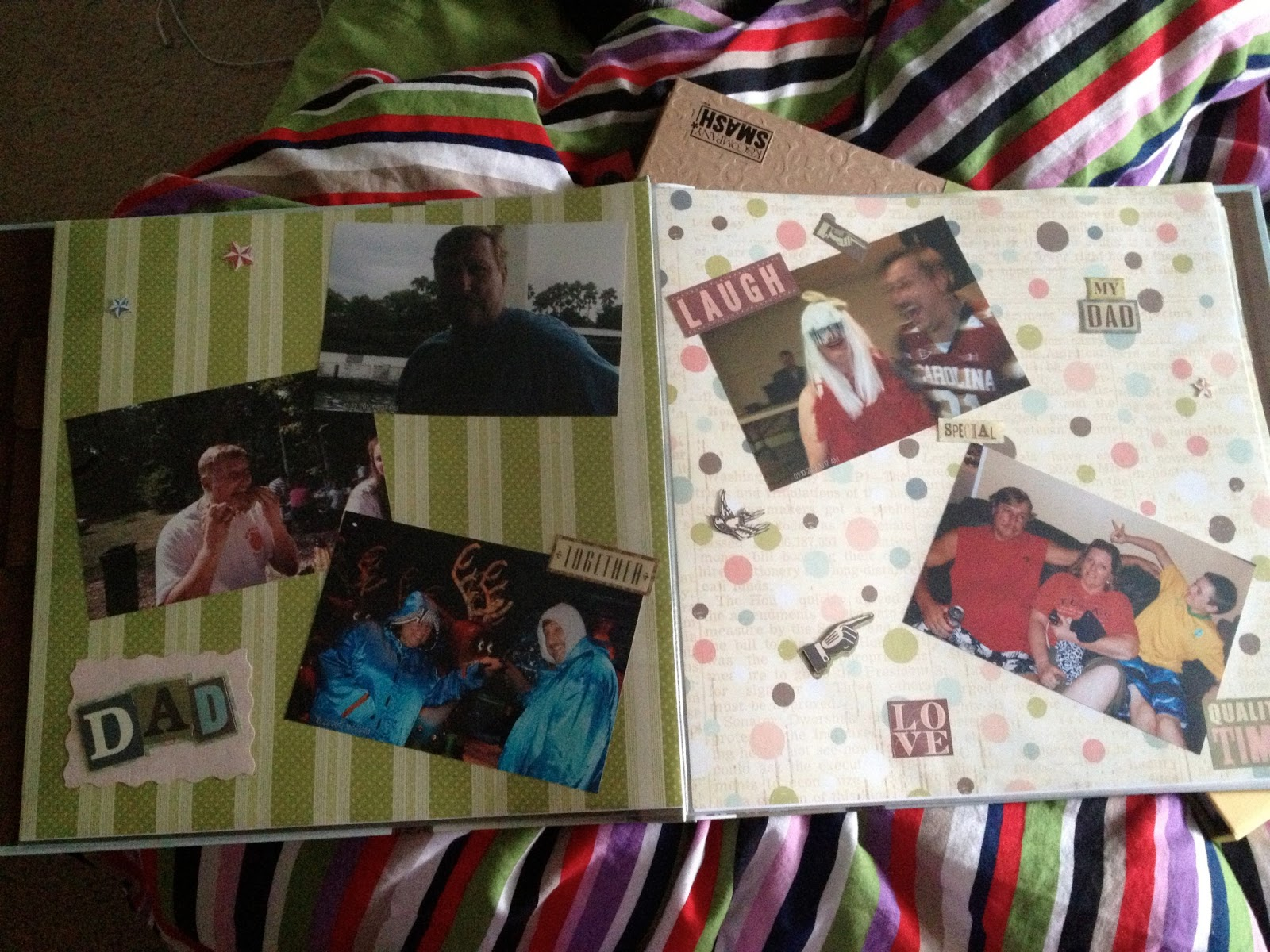 How to make scrapbook look good - You Can Scrapbook Without All Of Those Expensive Little Things But You Either Need The Stuff Or The Talent To Make It Look Good I Have Neither