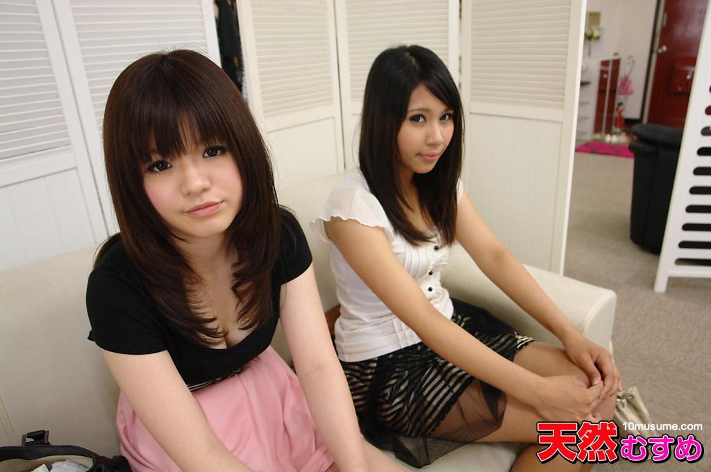 [HD/SD 2.4G] 10Musume 102012 01 おんな友達といっしょ ~一緒だから3Pもたのすぃ~ 小倉りえ 酒井杏菜