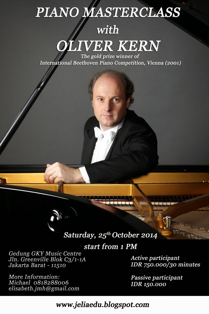 Piano Masterclass with Oliver Kern
