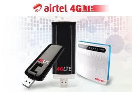 Airtel 4G devices, Airtel 4G speed, Reliance 4G 2012