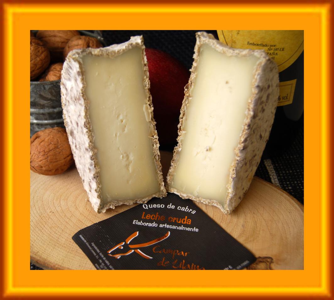 Nuestros quesos campar de lilaina queso cabra leche - Queso de cabra y colesterol ...