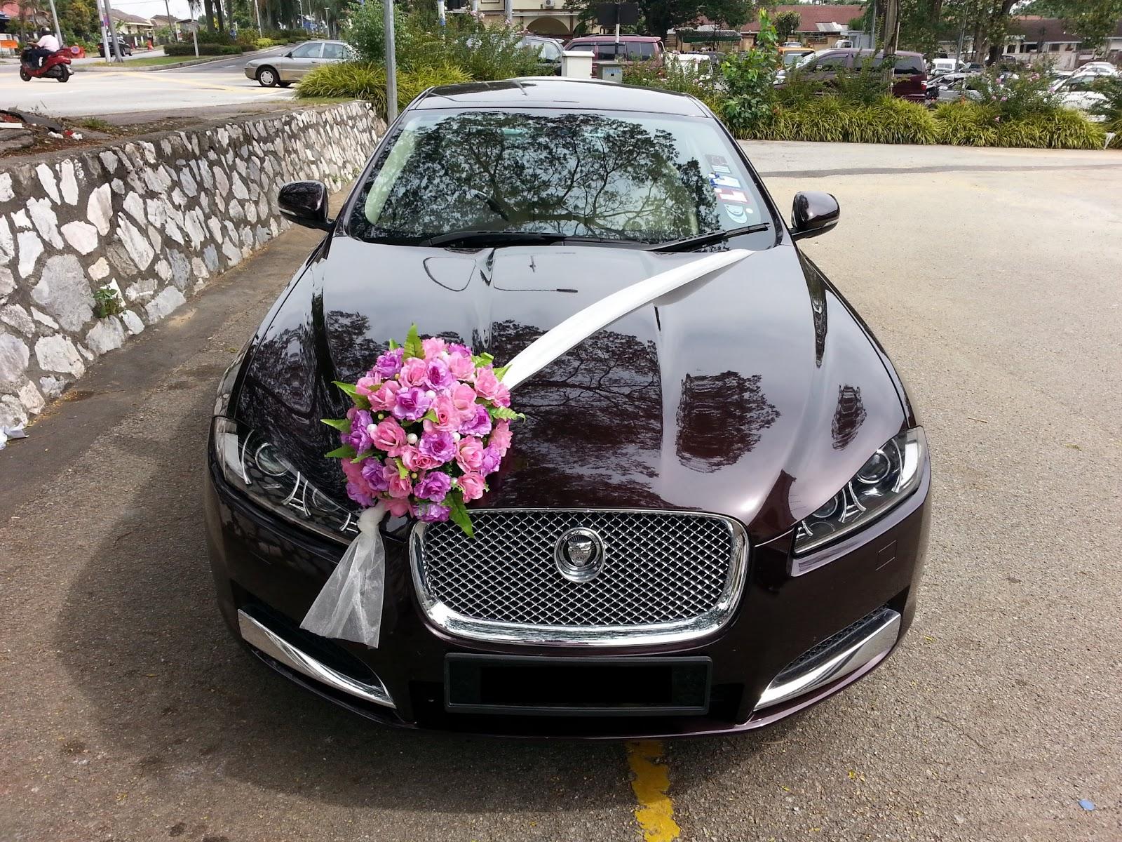 Как украсить свадебные автомобили