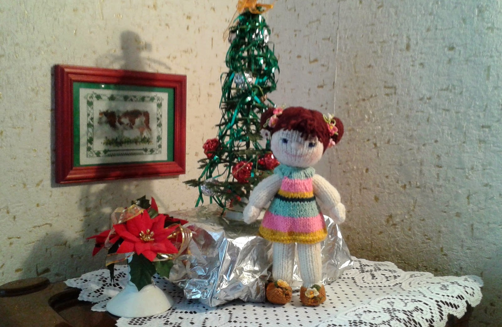 вязаная кукла