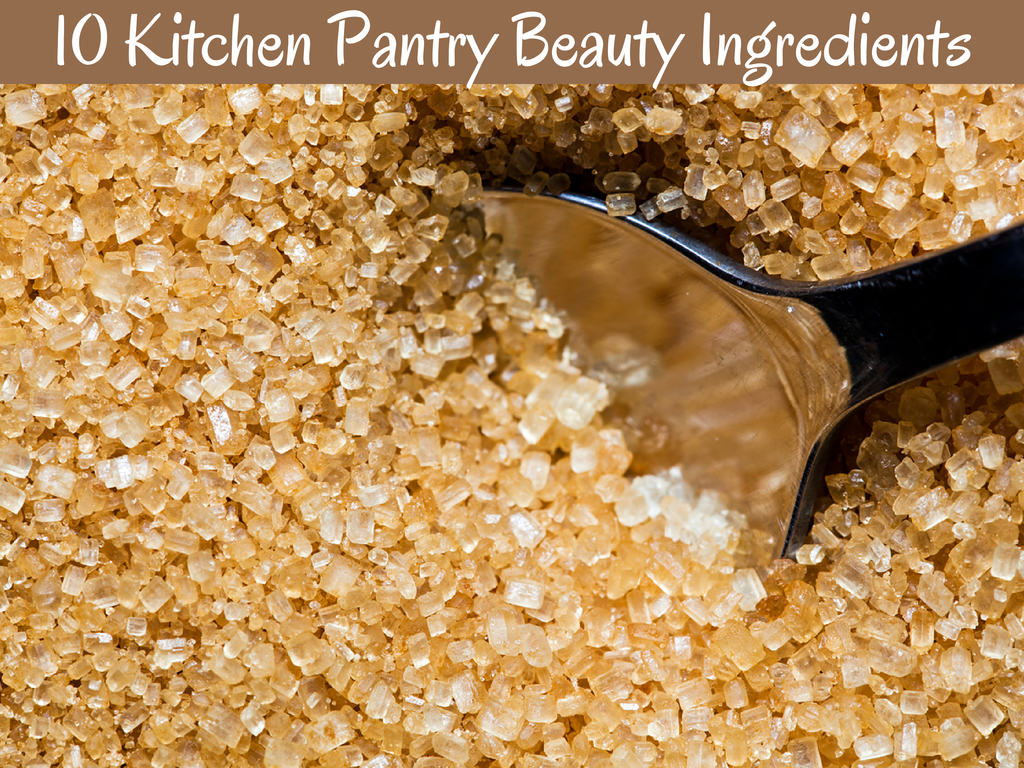 10 Kitchen Pantry Beauty Ingredients
