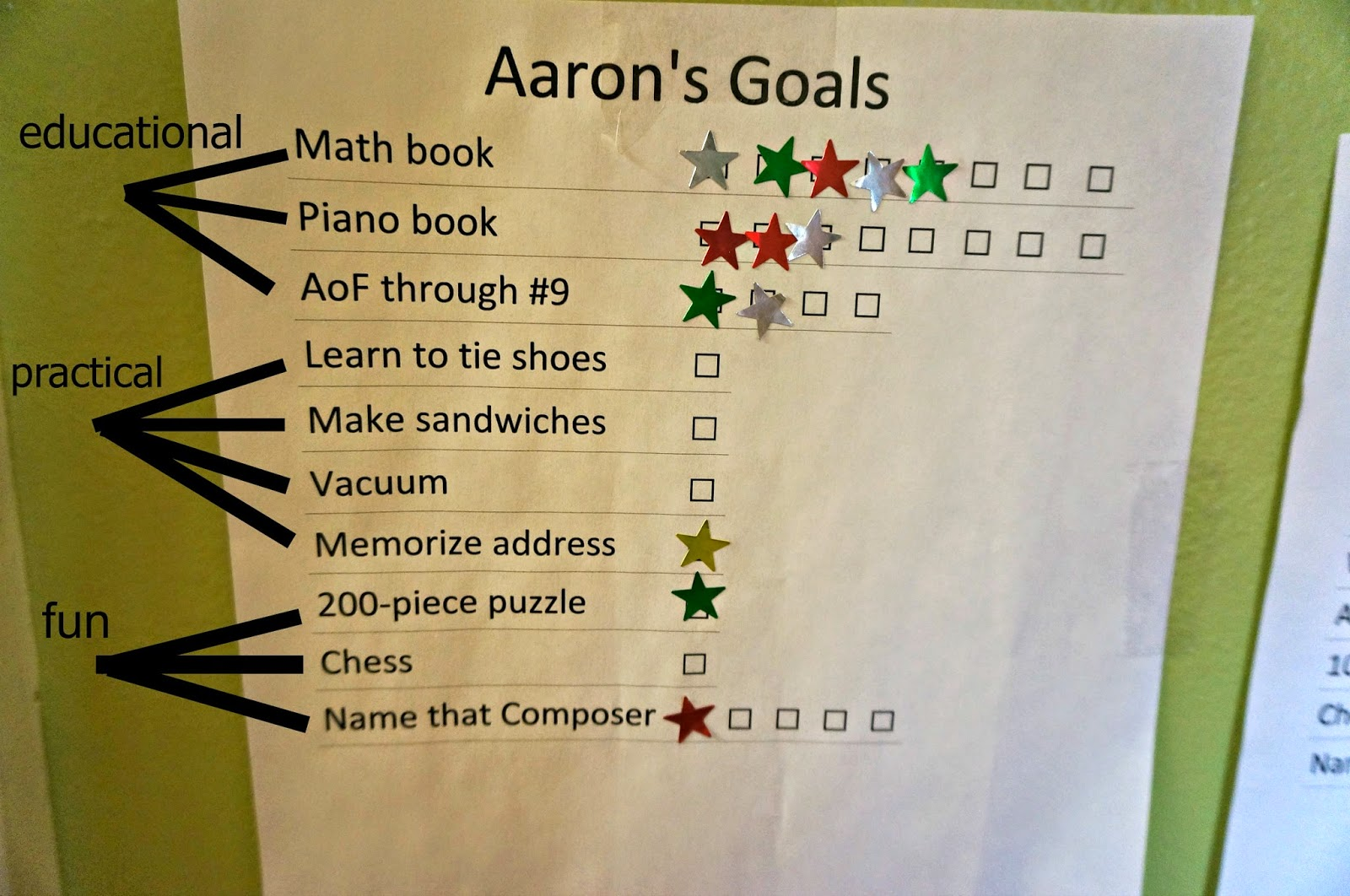 academic goals Advising eight goals - a graduation requirement to ensure a degree of  consistency regarding what is meant by an education at hobart and william  smith.