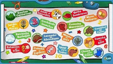 JUEGOS INFANTIL PARA CONTAR