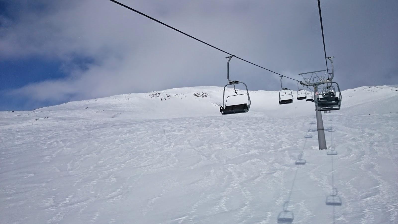 wyciąg, snow ski italy, widoki z wyciągu, maso corto, piękny widok góry, maso corto