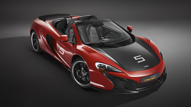 McLaren celebrates 50 years of historic US race series with limited run 650S Can-Am
