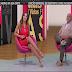 Ana Lúcia belas pernas e decote@fv cmtv 28.05.13