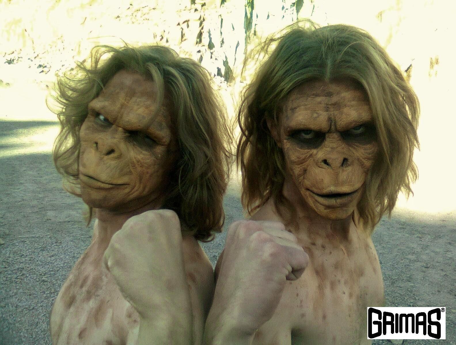 Ape brothers. Makeup: Ari Savonen.
