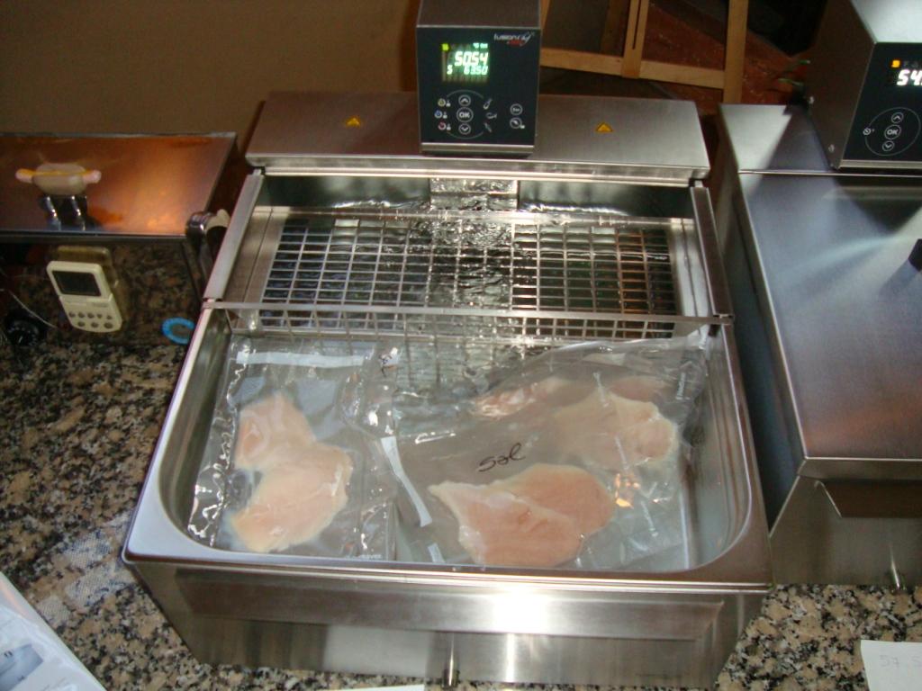 Gastronom a molecular cocina al vac o taller for Cocinar al vacio en casa