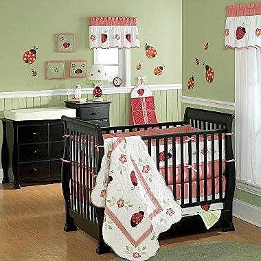 Ladybugs Crib Bedding Sets