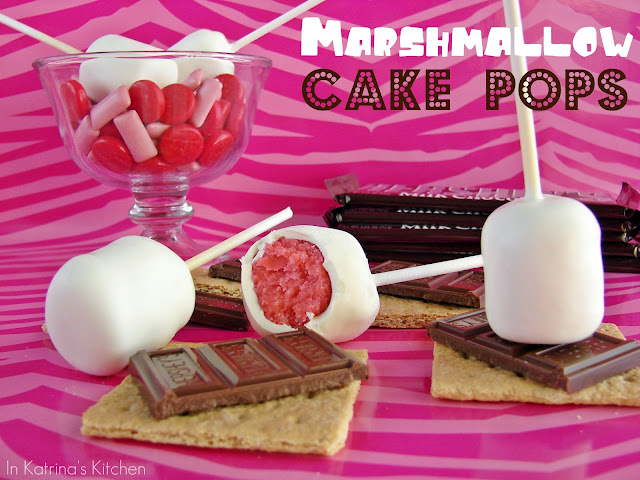 Surprise Marshmallow Cake Pops from @KatrinasKitchen