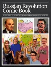 Russian Revolution Comic Book
