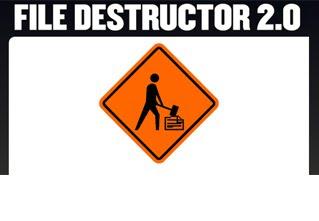 file destructor webxplosion