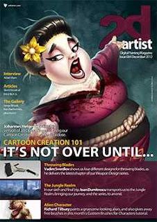 2DArtist Magazine Issue 084 December 2012