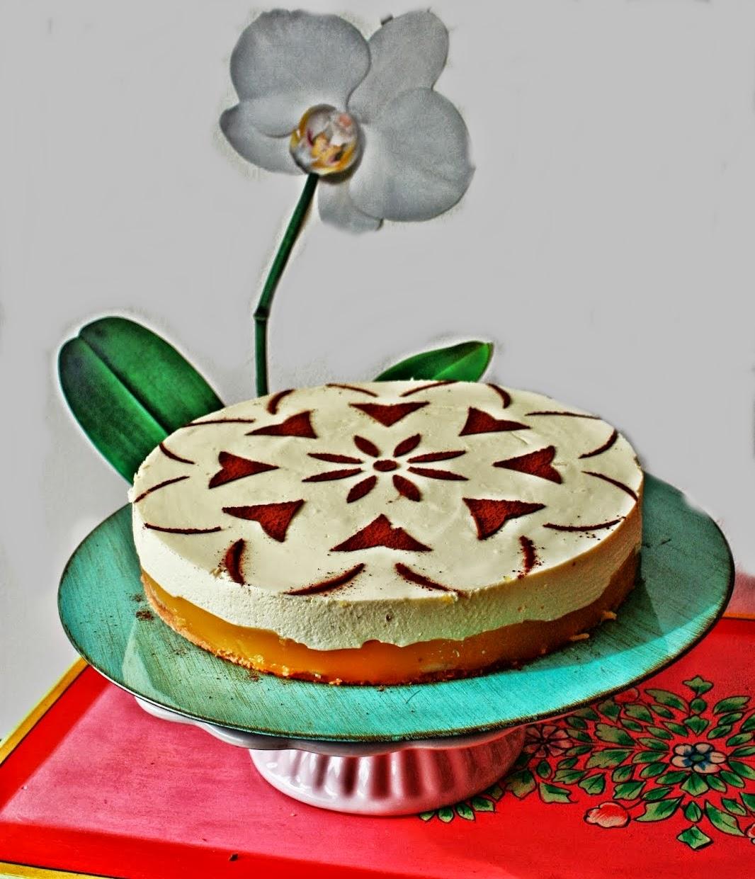 Bananen Maracuja Torte mit Eierlikör Schmand Guss
