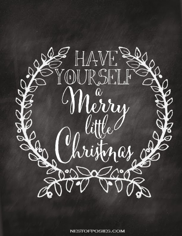 printable christmas quotes for chalk boards  quotesgram