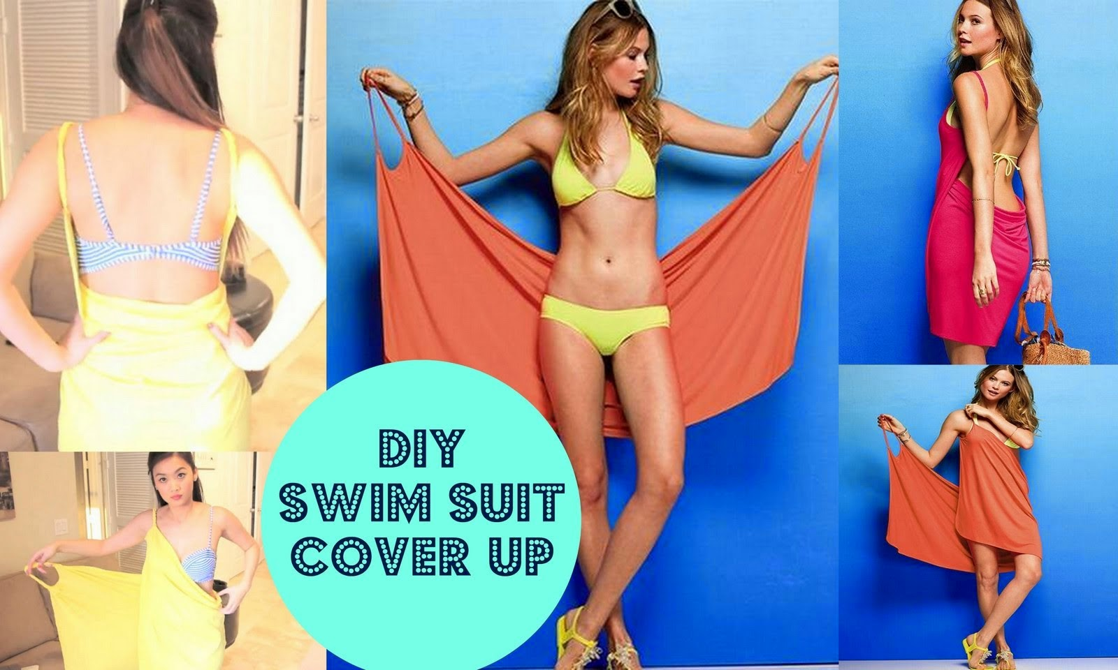 Victoria's Secret Bikini Cover Up DIY