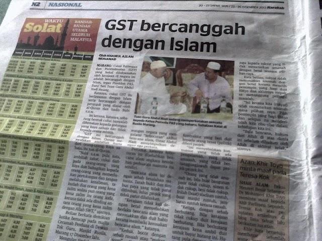 GST HARAM : Bagaimana Mengambil Jizyah, Ushur dan Cukai-cukai lain?!