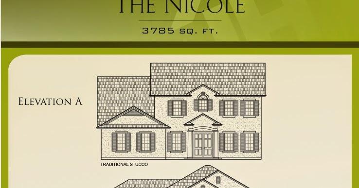 Landon Homes Featuring The Nicole Floor Plan Benton