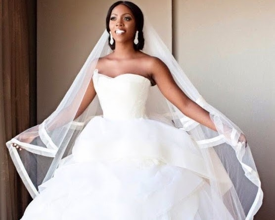 tiwa savage wedding pictures