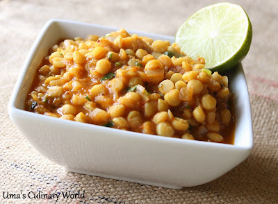 Chana Dal Sabji