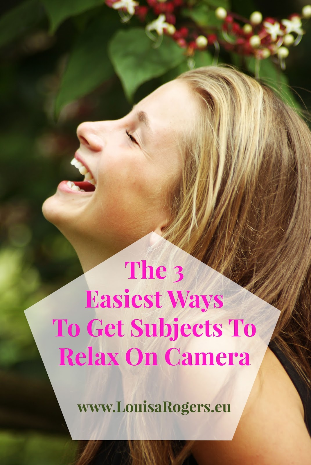 The 3 Easiest Ways To Get Subject To Relax On Camera