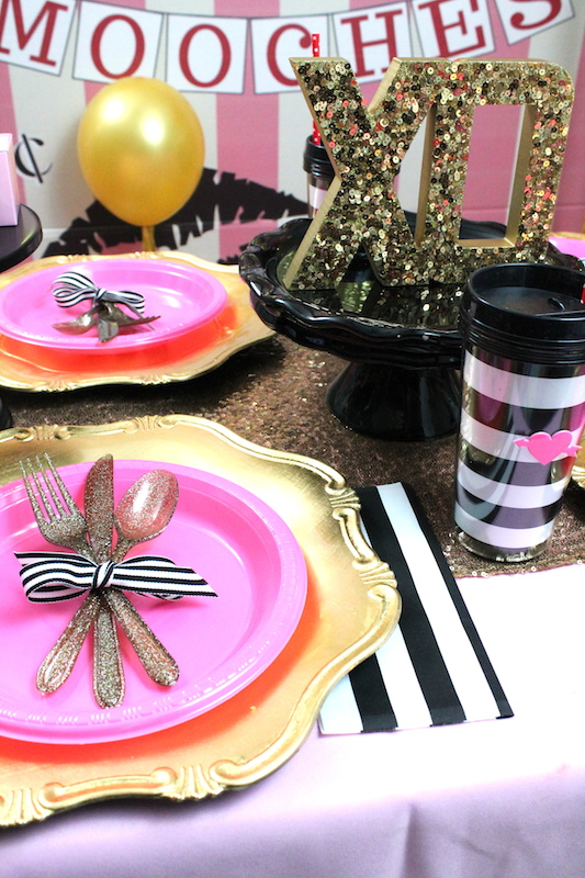 galentine 39 s day party ideas laura 39 s little party. Black Bedroom Furniture Sets. Home Design Ideas