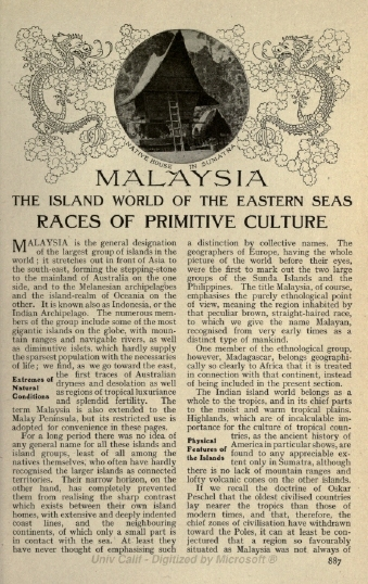 Malaysia Telah Wujud Sejak 1826