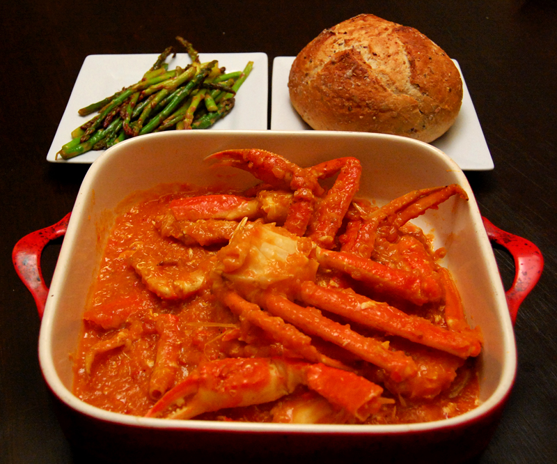 torkanokul: Singapore Chilli Crab