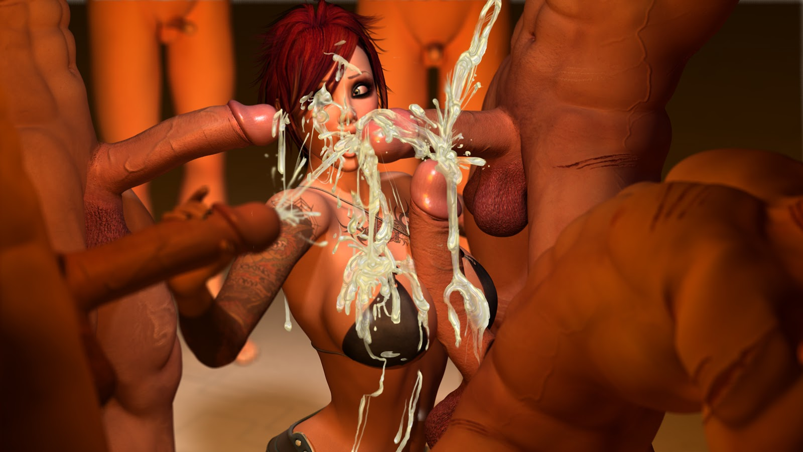 3d bukkake sex pictures xxx comics