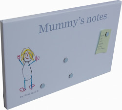 Personalised Magnetic Noticeboards