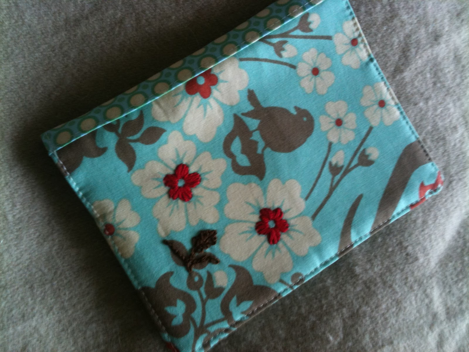 Fabric Notebook Cover : Five go ging how to make a notebook fabric cover