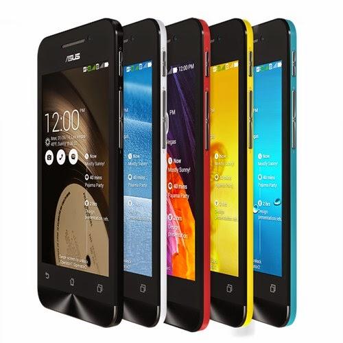 Smartphone dengan Layar 4 Inci