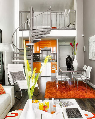 Decoração de um apartamento muito pequeno