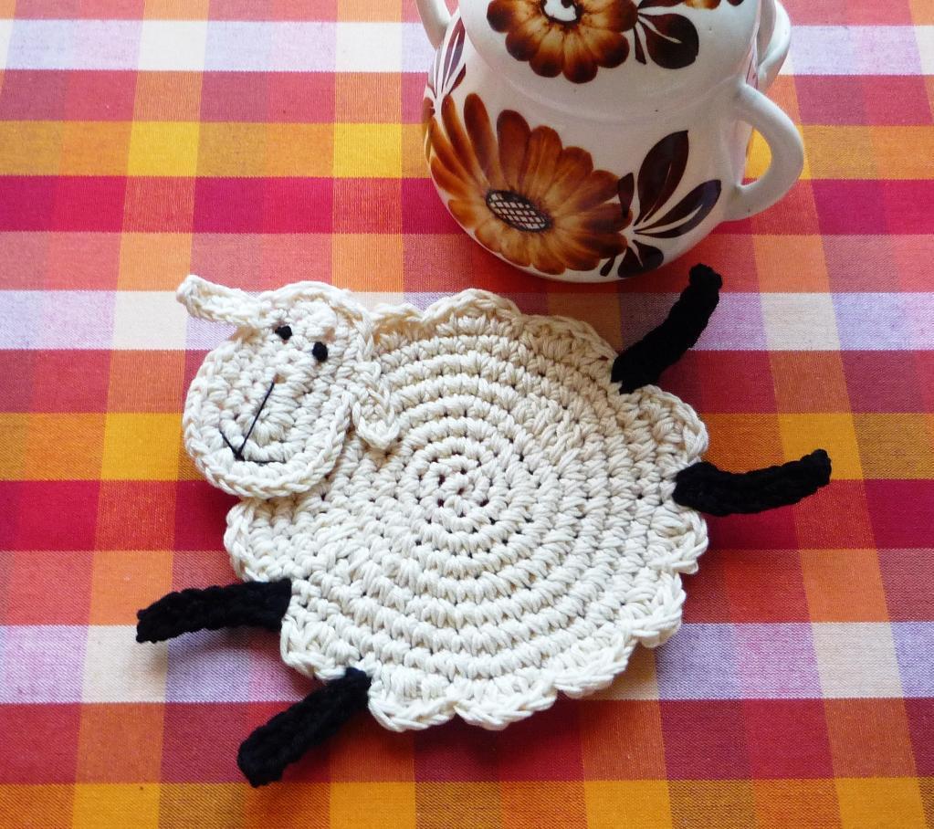 Dormite p a inspiraci n crochet en la casa for Crochet decorations for home