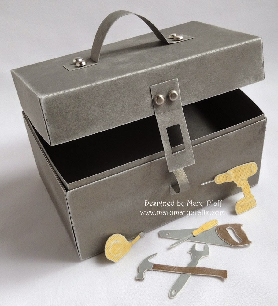 marymarycrafts: Tool Box Gift Card Holder