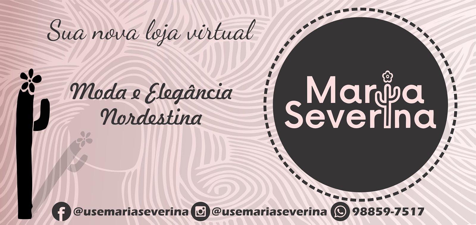 Promoção @UseMariaSeverina