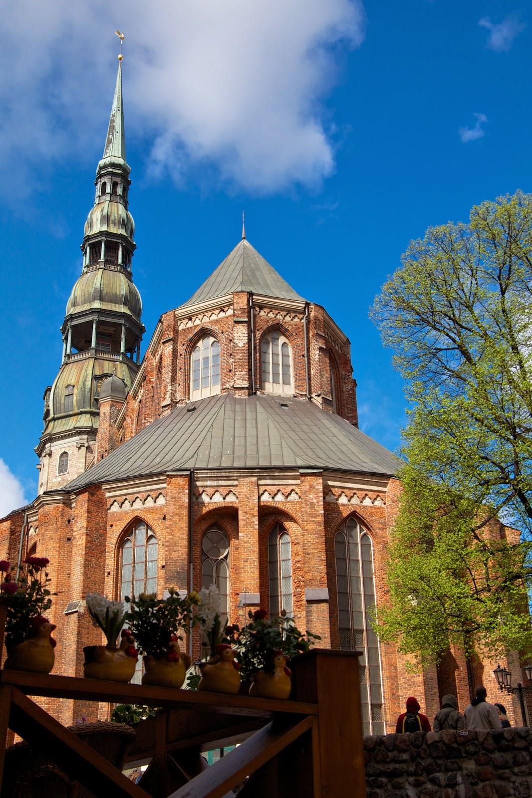 Церковь Святого Петра, Рига, Латвия