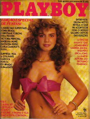 Confira as fotos de Claudia Rey, capa da Playboy de novembro de 1982!