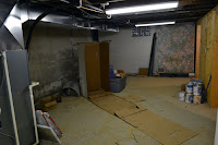 basement east end before