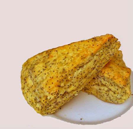 One Perfect Bite: Lemon-Poppy Seed Scones