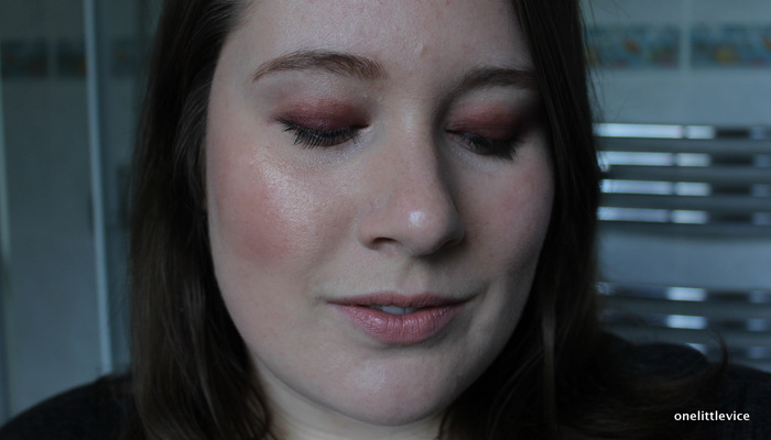 one little vice beauty blog: affordable cream eyeshadow red