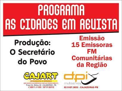 AS  RÁDIOS COMUNITÁRIAS ESTÃO BOMBANDO NA  REGIÃO DO ALTO PIRANHAS DE CAJAZEIRAS PB