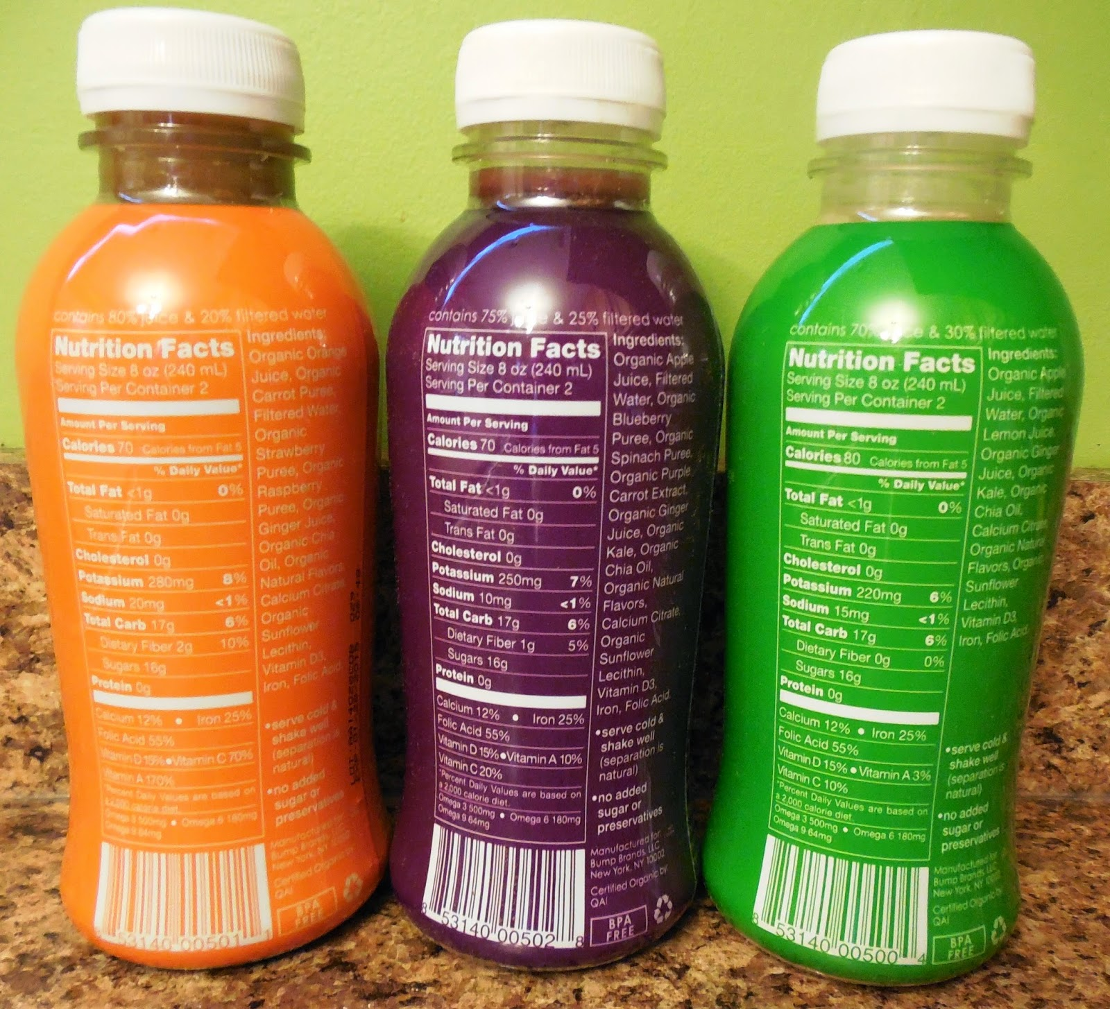 Bundle Organic Prenatal Juices