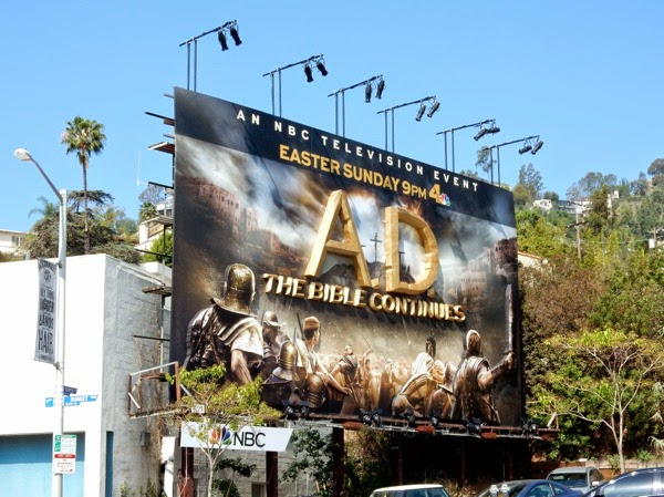 AD The Bible Continues 3D billboard
