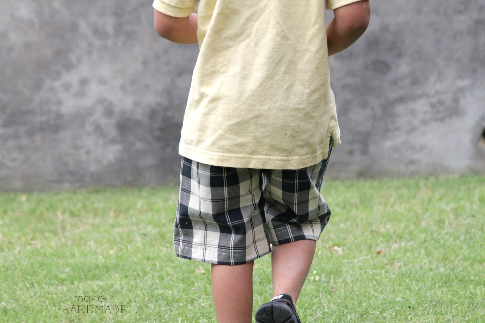 KID Shorts Pattern Review and Giveaway!  Boy's Shorts